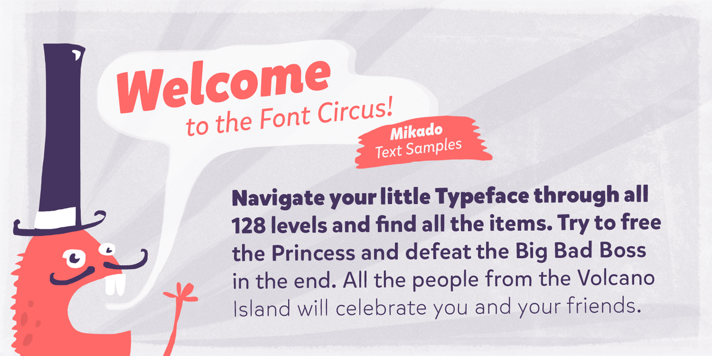 Welcome to the Font Circus