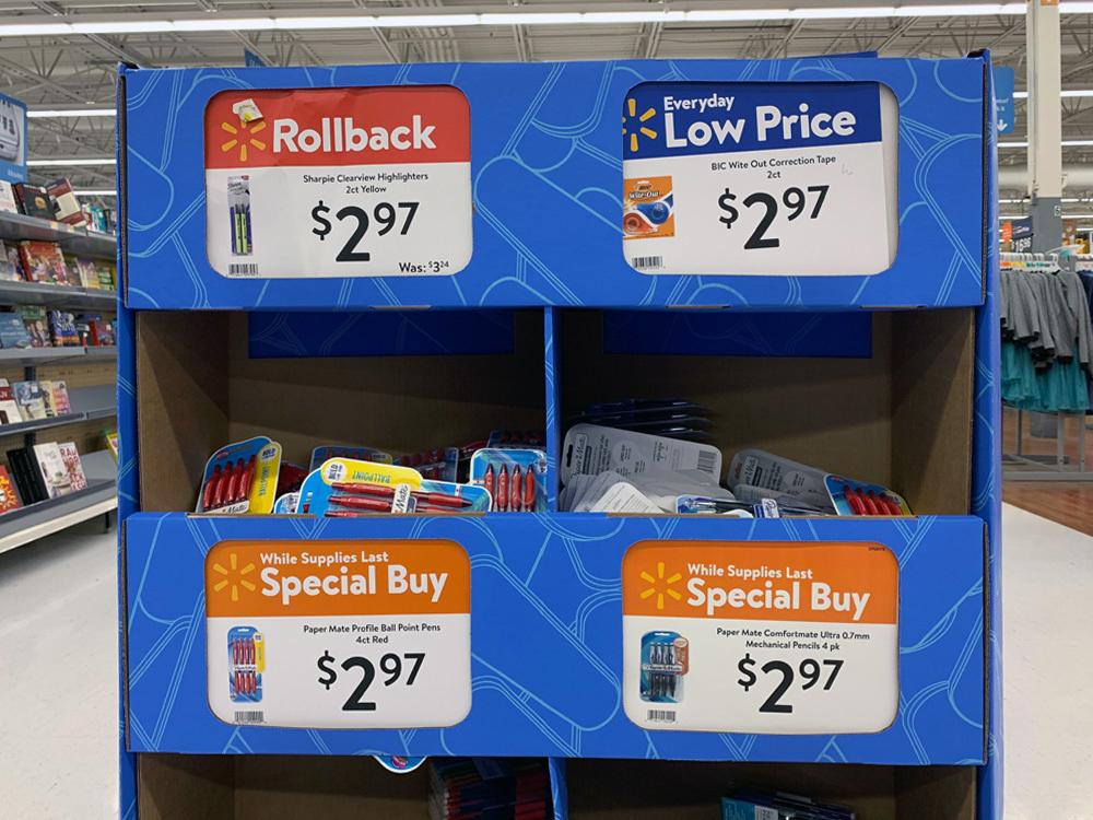Walmart Price Tags