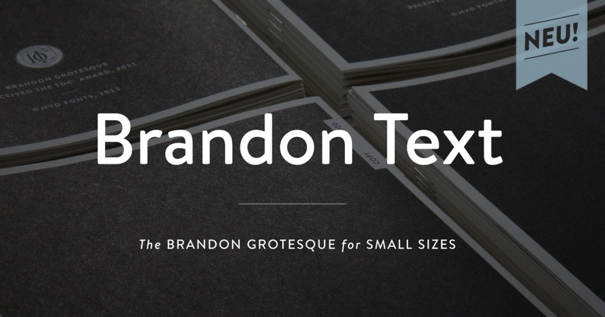 Brandon Text | HvD Fonts